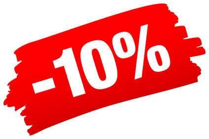 Aktionsrabatt 10% für die Frühjarsaktion.